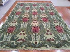 PC-30A Tulip (L36486) This Tulip rug has been heavily discounted to sell at $2,000. Deal!