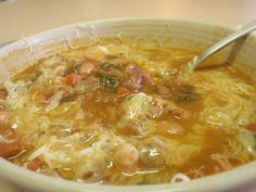 Minestra homemade Maltese vegetable soup.