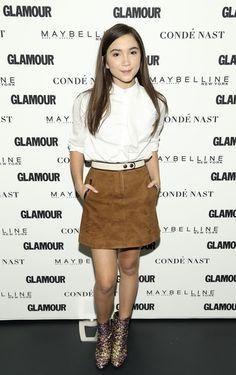 O estilo da Rowan Blanchard Rowan Blanchard, Cool Outfits, Fashion Outfits, Fashion Tips, Skirt Fashion, Riley Matthews, Suede Mini Skirt, Girl Meets World, Boy Meets