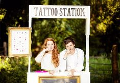 Add the fun factor to your wedding reception with these unique and unusual ideas like tattoo stations, bouncy castles and sweet tables to jazz up your wedding day