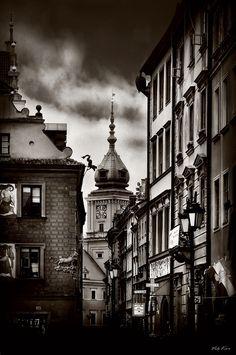Streets of the old Warsaw II  ~Viktor Korostynski