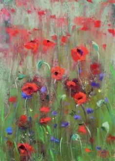I love impressionism - the essence of what is being captured in color and light, with a sense of air and movement.