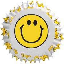 Smiley Face Cupcake Liners by Wilton