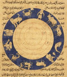 Arabic zodiac manuscript, 16th -19th century