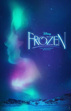 The Frozen poster for the Broadway musical version of the animation movie is official, courtesy of London-based illustrator Olly Moss. Disney Images, Disney Pictures, Disney Art, Frozen Images, Frozen On Broadway, Frozen Musical, Disney Princess Quotes, Disney Princess Drawings, Disney Sketches