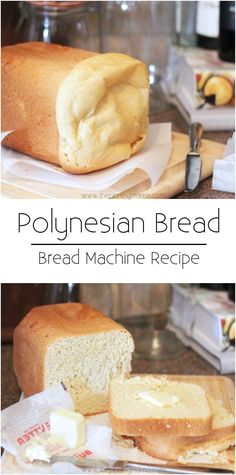 A little sweet and super light and soft! I love the secret ingredient that makes this bread so delicious! Polynesian Bread Machine Recipe.