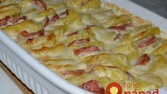 Kassler – Kartoffel – Gratin - New Site Pork Recipes, Cooking Recipes, Good Food, Yummy Food, Sauce Tomate, Daily Meals, Diy Food, Quick Easy Meals, Macaroni And Cheese