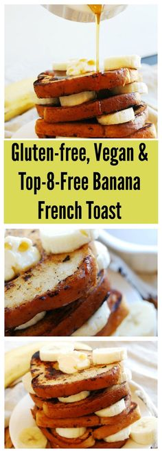 vegan banana french toast gluten dairy egg soy peanut tree nut free top 8 free