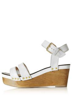 Wooden Wedge from Topshop