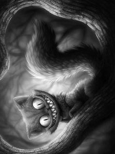 чеширский кот - совсем не тот, кто чешет языком
