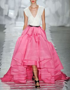 I secretly hope that everyone dresses like this. #pink #skirt