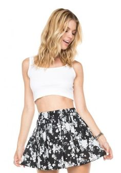 Brandy flower skirt