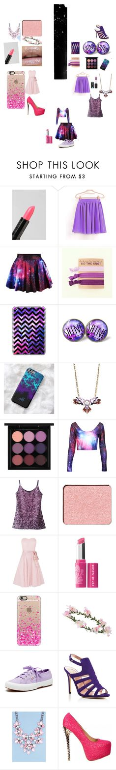 """I don't even know what to call this one! "" by thepinkandpurplerainbow ❤ liked on Polyvore featuring Urban Decay, Anna Sui, Casetify, MAC Cosmetics, shu uemura, Kaliko, Bare Escentuals, Miss Selfridge, Superga and SJP"