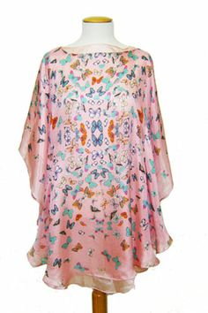 vestido - blusón de seda JULUNGGUL primavera-verano 2014. www.julunggul.com Silk dress, spring-summer 2014