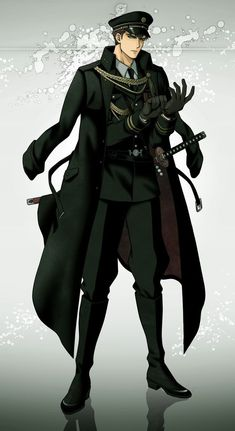 Fantasy Character Design, Character Inspiration, Character Art, Handsome Anime Guys, Cute Anime Guys, Anime Uniform, Anime Kunst, Anime Stories, Anime Military