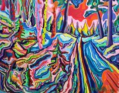 Buy Original Artwork at Artwork Only - Ski track. by Paavo Stenius
