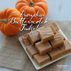 Picture of Pumpkin Butterscotch Fudge