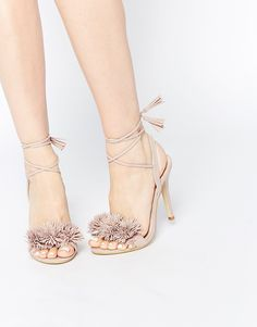 Daisy+Street+Blush+Pom+Ghillie+Lace+Up+Heeled+Sandals