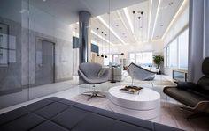 Awe-Inspiring Hudson River Apartment