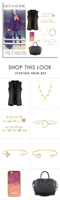 """""""Danielle Peazer on Snapchat  2\6\2016"""" by lifeisworthlivingagain ❤ liked on Polyvore featuring Topshop, claire's and Givenchy"""