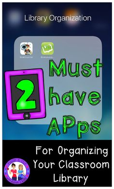 2 must have apps for managing your classroom library. Scan books to find their . Library Checkout System, Classroom Library Checkout, Classroom Libraries, Library App, Class Library, Library Ideas, Library Organization, Teaching Reading, Teaching Tips