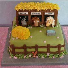 Geburtstagskuchen, Tolle Idee für Pferde begeisterte Mädels!