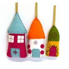 Corinne Lapierre Felt Scandinavian Angels Sewing Craft Kit Multi-Colour 14 cm