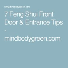 feng shui front door entry and doors on pinterest amber collins feng shui