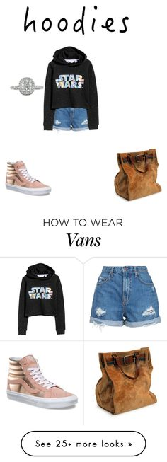 """Untitled #71"" by monkeys567 on Polyvore featuring Nobody Denim, Vans, H&M, Mark Broumand and Hoodies"