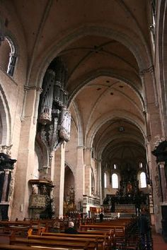Trier, Germany // Comment said: This Cathedral protects Christ's Seamless Tunic. It will be on display for the 4th time in 2012.