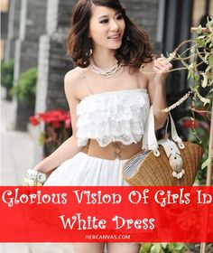 40 Glorious Vision Of Girls In White Dress | http://hercanvas.com/glorious-vision-of-girls-in-white-dress/