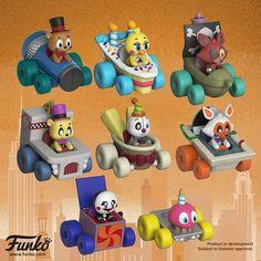 Funko is releasing a set of FNaF racers. these are friggin\' adorable!  #fnaf #fivenightsatfreddys #fnaffandom #fnaffanart #funko #funkopop #pop #fnaffunko #freddyfazbear #bonniethebunny #chicathechicken #foxythepirate #lolbit #fredbear #ennard #fnaf1 #fnaf2 #fnaf3 #fnaf4 #fnafsl #fnaf6 #fnafworld