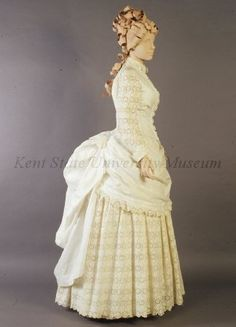 Old Rags - Tea dress, ca 1885 US, Kent State