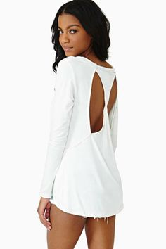 Twisted Ways Top - Ivory