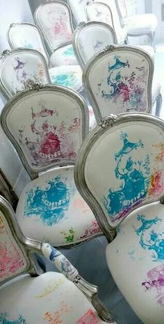 Print on chairs