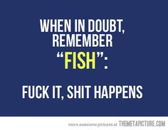 funny fish quote life advice on imgfave