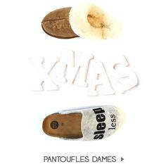 Pantoufles dames