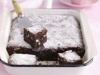 Gluten-free chocolate and pecan brownies Pecan Brownies Recipe, Gluten Free Brownies, Mug Recipes, Almond Recipes, Zucchini Brownies, Sweet Bakery, Gluten Free Chocolate, Cakes And More, Tray Bakes