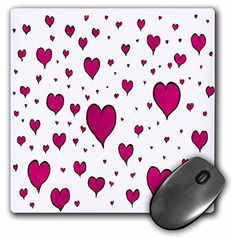 3dRose LLC 8 x 8 x 0.25 Inches Pink Hearts on White Mouse... https://www.amazon.com/dp/B004KQ75NK/ref=cm_sw_r_pi_dp_x_6Ge0ybE9DW9V5