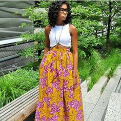 60 Ways to Style Your Ankara Skirts