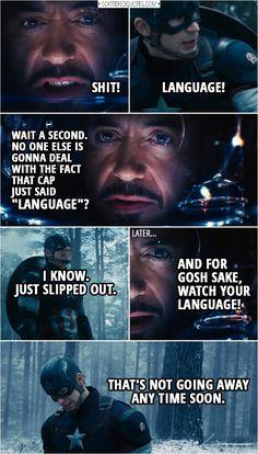 Avengers Humor, Marvel Avengers, Marvel Jokes, Avengers Quotes, Avengers Imagines, Funny Marvel Memes, The Avengers Assemble, Marvel Comics, Marvel Facts