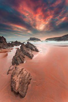 wowtastic-nature: Playa de Arnia @ Liencres - Cantabria (Spain)...