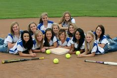Softball/softball Team Picture Poses Ideas: Softball/softball Team ...