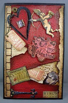 Grunge Valentine - Outside - Scrapbook.com