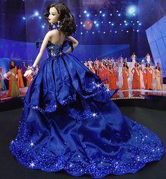 OOAK Barbie NiniMomo's Miss France 2009