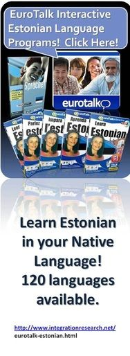 EuroTalk Estonian Language Learning Programs.