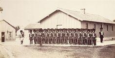 Garde Imperiale  Camp de Châlons : baraquement de l'Etat-Major général, poste d'honneur Prévot Louis Joseph Gemmi (1820-?)