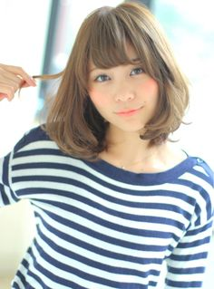 ~Visee Line~ ナチュ可愛ボブ | 愛知県・名駅・庄内通周辺の美容室 Visee Lineのヘアスタイル | Rasysa(らしさ)