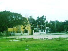 Iglesia de Dzitya, Yucatan, Mexico
