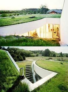 Underground Homes - Earth Sheltered Houses for Eco Hobbits